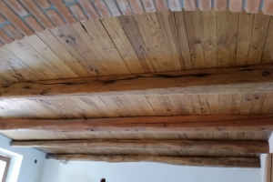 restauro travi di legno